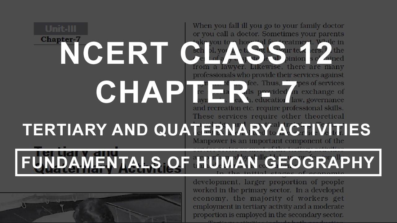 class 12 chapter 7 ncert geo