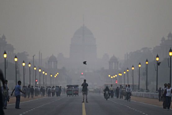 delhi air pollution upsc article