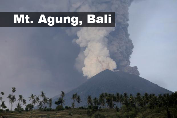 mount agung volcano eruption 2017 upsc geography