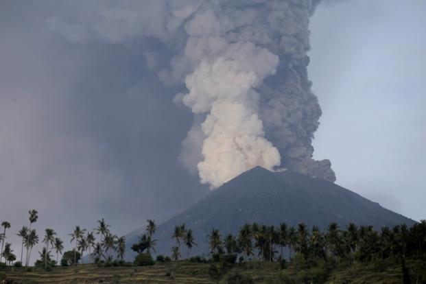 mount agung volcano eruption 2017 upsc gegraphy