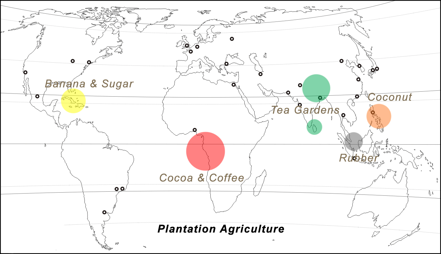 plantation agriculture class 12 ncert geo