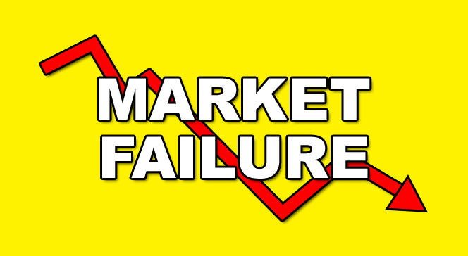 discuss the main causes of market failure