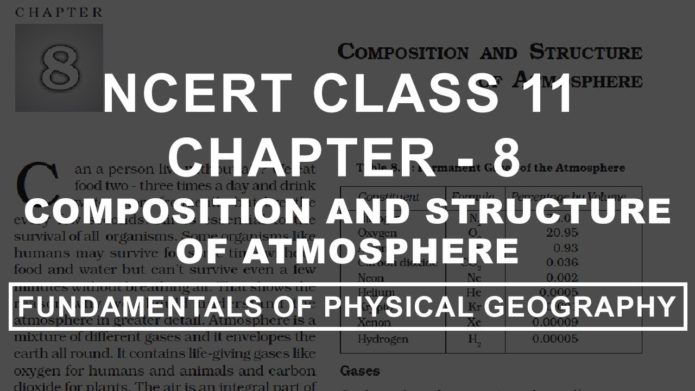 class 11 chapter 11 water in atmosphere